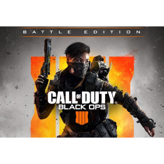 BO4 Call of Duty® - Black Ops 4 Battle Edition - PC - Instant Delivery