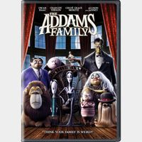 The Addams Family *Itunes Only* UHD/4k