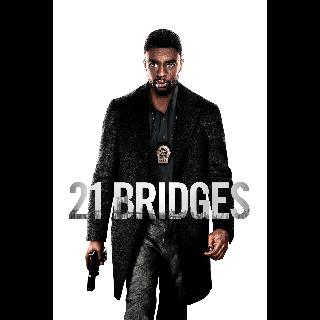 21 Bridges *Itunes Only* UHD/4k