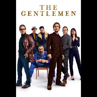 The Gentlemen *Itunes Only* UHD/4k