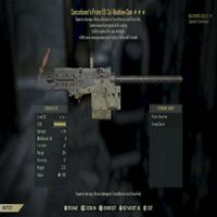 Weapon   EE 50 Cal W/ Mvmt Speed