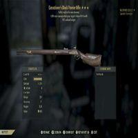 Weapon   EE Black Powder Rifle RW