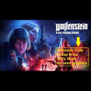 WOLFENSTEIN YOUNG BLOOD Bethesda Key Game Global