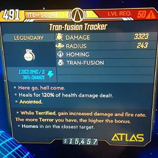Grenade | Tran-Fusion Tracker