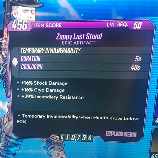 Artifact | Zappy Last Stand