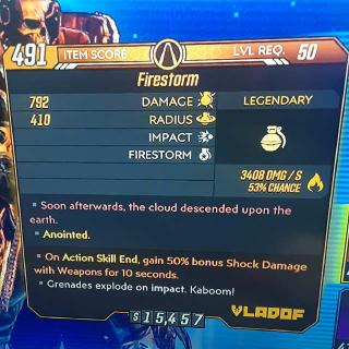 Grenade | Firestorm
