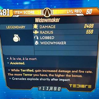 Grenade | Widowmaker