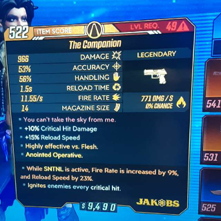Weapon   The Companion