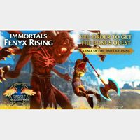 Immortals: Fenyx Rising DLC NEW MISSION A Tale Of Fire And Lightning PC / UPLAY / UBISOFT CONNECT
