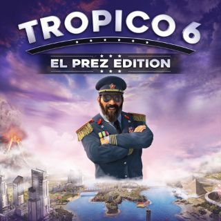 Tropico 6 El Prez Edition - PS4 NA - Full Game - Instant - 37L