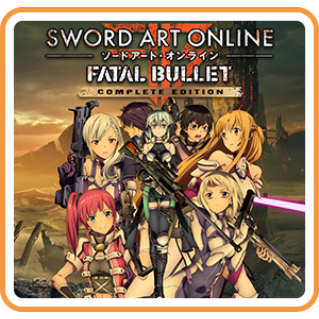 SWORD ART ONLINE: FATAL BULLET Complete Edition - Switch EU - Full Game - Instant - CF43