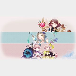 Atelier Mysterious Trilogy Deluxe Pack (Playable Now) - Full Game - PS4 EU - Instant - 247L