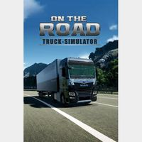 On The Road The Truck Simulator - Full Game - XB Series X/S/One Instant - 250H