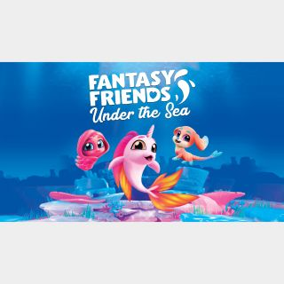 Fantasy Friends: Under the Sea - PS4 NA - Full Game - Instant - 317A
