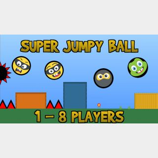 Super Jumpy Ball - Full Game - Switch NA - Instant - 23H