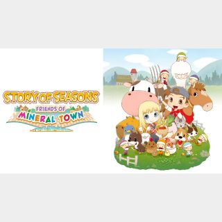 STORY OF SEASONS: Friends of Mineral Town - Switch EU - Full Game - Instant - 119L