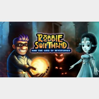 Robbie Swifthand and the Orb of Mysteries - Switch NA - Full Game - Instant - 21E