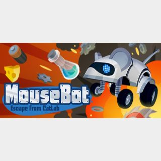 MouseBot: Escape from CatLab (Playable Now) - Global - Full Game - Steam Instant - 268U