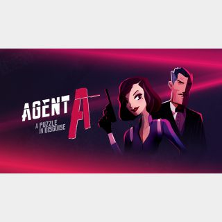 Agent A: A puzzle in disguise - Switch NA - Full Game - Instant - 12G