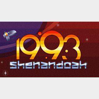 1993 Shenandoah - Switch NA - Full Game - Instant - 125L