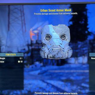 Apparel | urban scout mask
