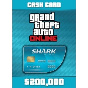 Grand Theft Auto Online: Tiger Shark Cash Card Rockstar