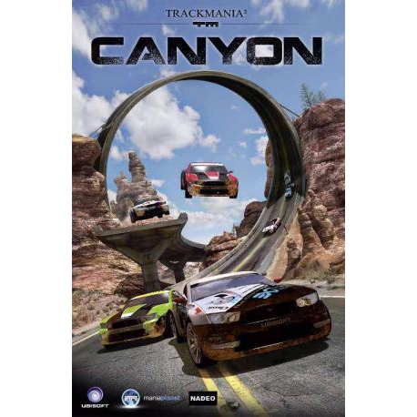 trackmania canyon key