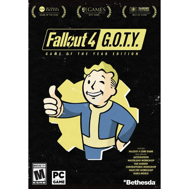 Fallout 4: Game of the Year Edition Steam Key - Steam Games