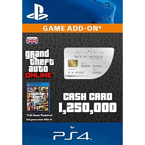 shark card prices ps4 euro