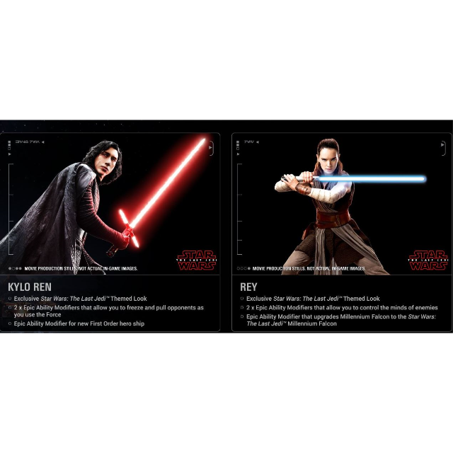 Star Wars Battlefront II 2 The Last Jedi Heroes DLC PS4 Key
