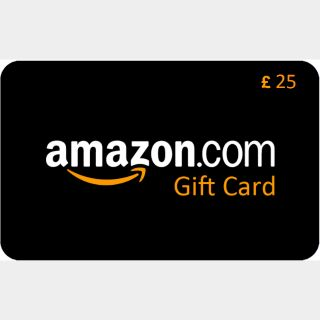 £ 25,00 Amazon Gift Card Instant Delivery