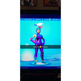 I will Get you a wins/carry on Fortnite or play Creative w/ Exclusive skins!
