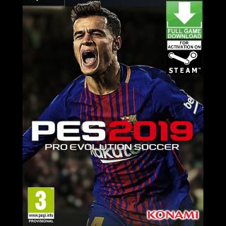 Pro Evolution Soccer 2019 PC steam Key