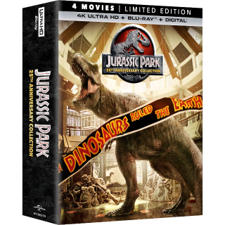 Jurassic Park 25th Anniversary Collection 4K Ultra HD Digital- Redeems via Movies Anywhere