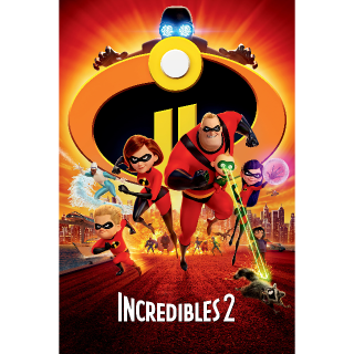 Incredibles 2 HD (Instant Delivery) - Redeems via Movies Anywhere