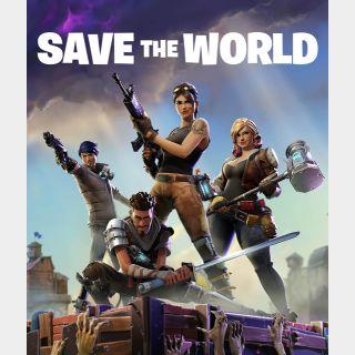 Save the world progression