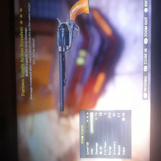 Weapon | FE FR Revolver