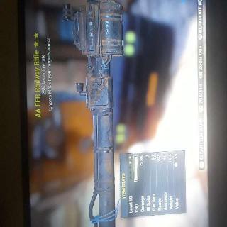 Weapon | AAFFR Railway Rifle