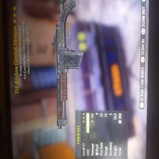Weapon | TSE DR Combat Shotgun