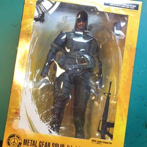 Metal Gear Solid Peacewalker Play Arts Kai Snake Jungle Fatigues Ver.