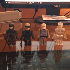 Metal Gear Solid Kubrick bundle *RARE*
