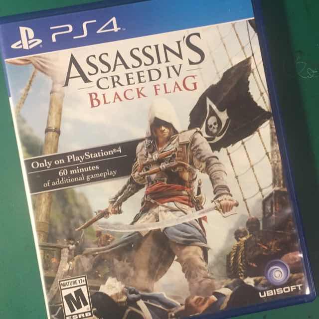 Assassin S Creed Iv Black Flag Ps4 Games Like New Gameflip