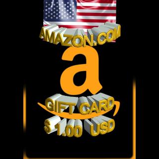 $1.00 USD Amazon (USA)