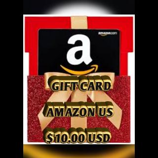 $10.00 USD Amazon (USA)