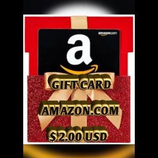 $2.00 USD Amazon USA