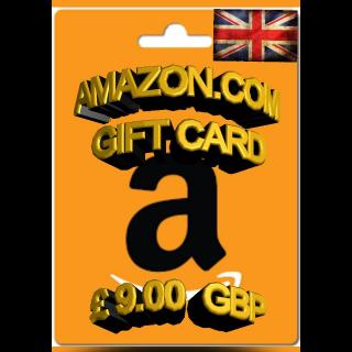 £9.00 GBP Amazon (UK)