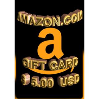 $5.00 USD Amazon (USA)