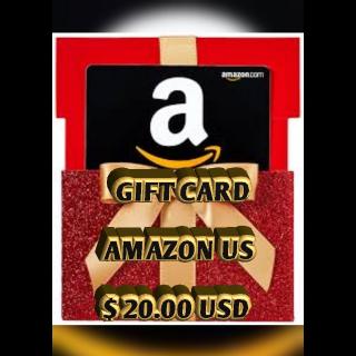 $20.00 USD Amazon (USA)
