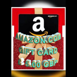£5.00 GBP Amazon (UK)