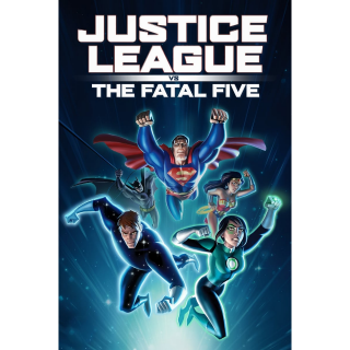 Justice League vs. the Fatal Five HDX UHD 4K DIGITAL